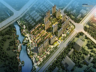 秦皇河畔,无敌视野,四室两厅两卫,楼前无遮挡,前面是小区花园。